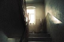 sunlight in a stairwell