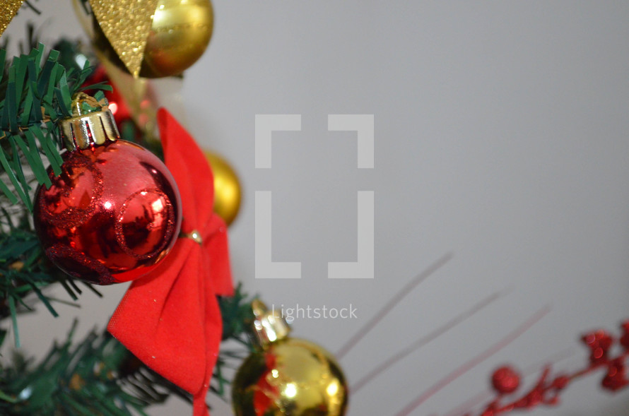 A christmas tree photo