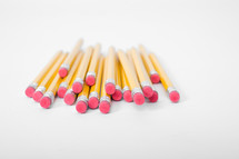 Stack of pencils.