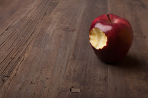 a bite out of an apple