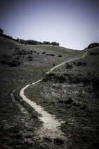 long winding path