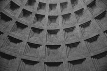 details on a dome in Italy