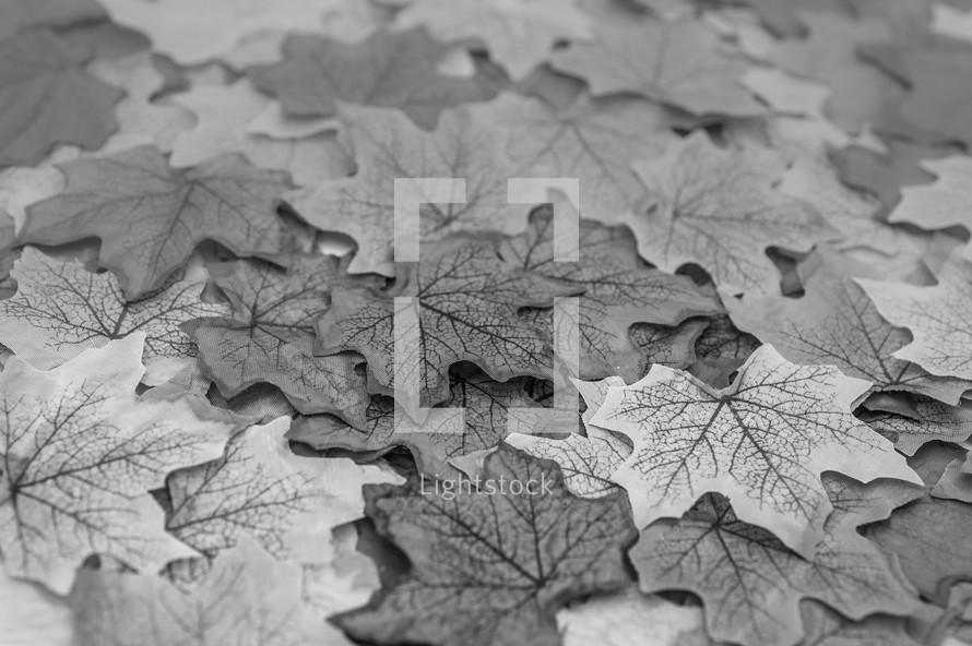 silk fall leaves