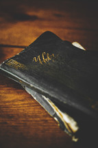 old worn Bible