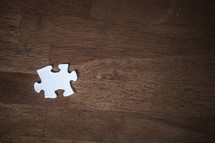 Missing puzzle piece.