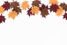 felt fall leaves
