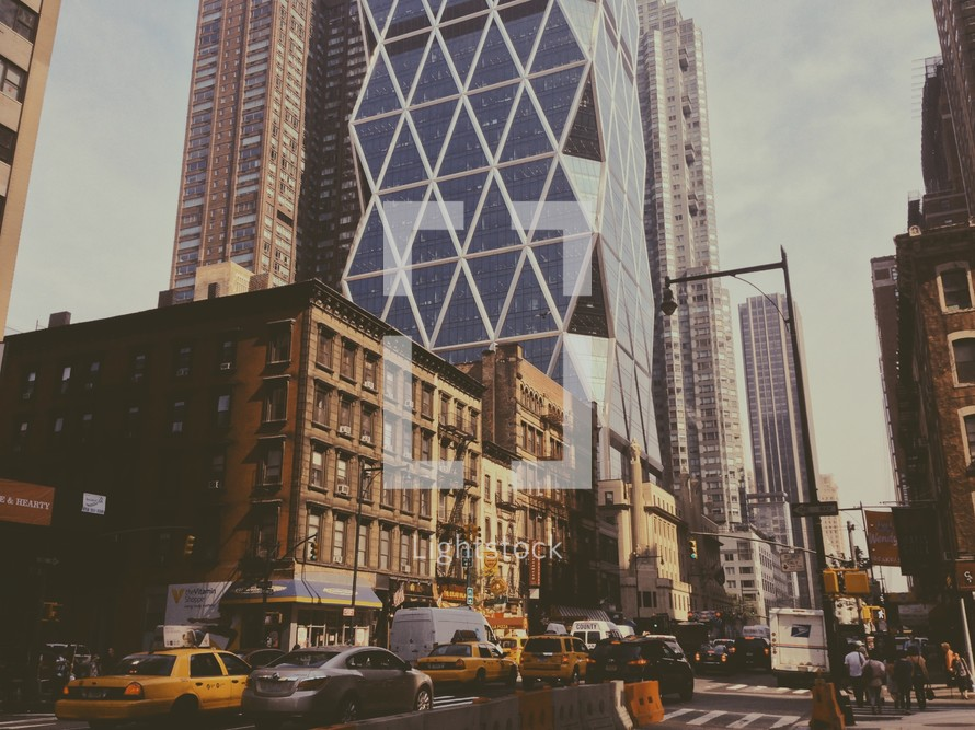 New York City street.
