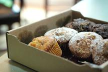 Box of muffins