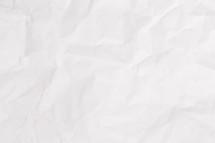 white crinkled paper