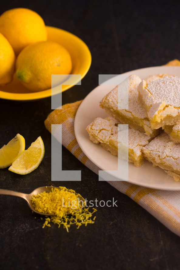 baking lemon bars