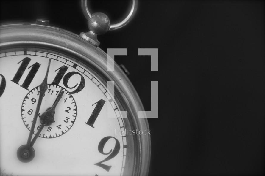 Alarm Clock time 12:00