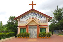 Cambodian 'Memorial' Church