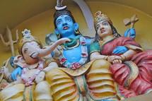 Ornate Indian figures.