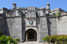 Castle Fortress Gate with watchtowers