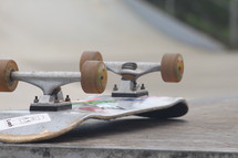upside down skateboard