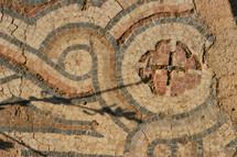 ancient stone tile mosaics
