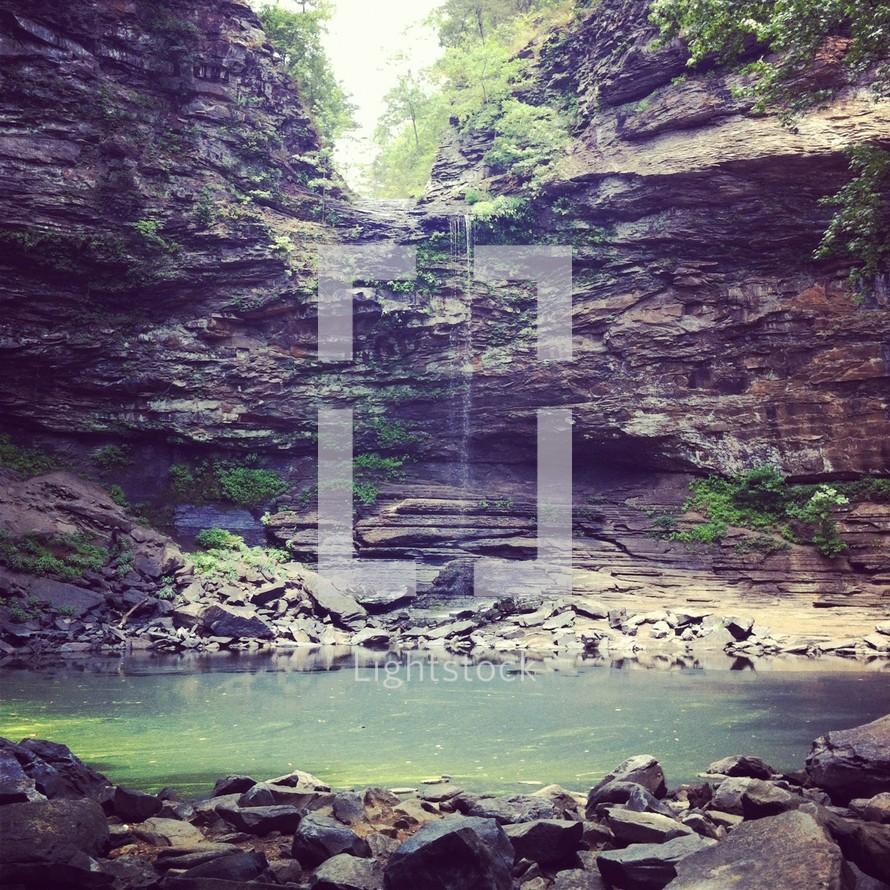 mountain swimming hole
