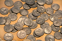 Roman Silver Coins or pieces of silver