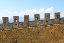 castle walls, fortress
