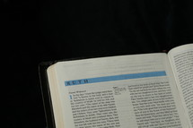 Open BIble in the book of Ruth