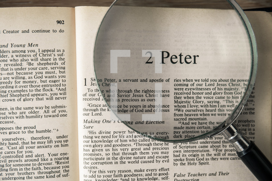 2 Peter under a magnifying glass