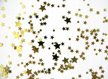 scattered star confetti