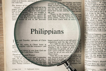Philippians under a magnifying glass