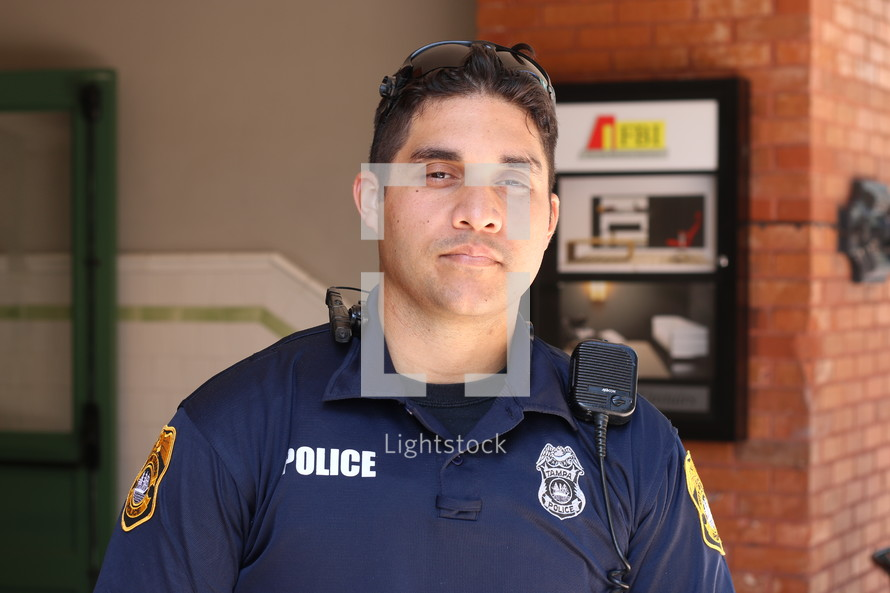 A police officer.