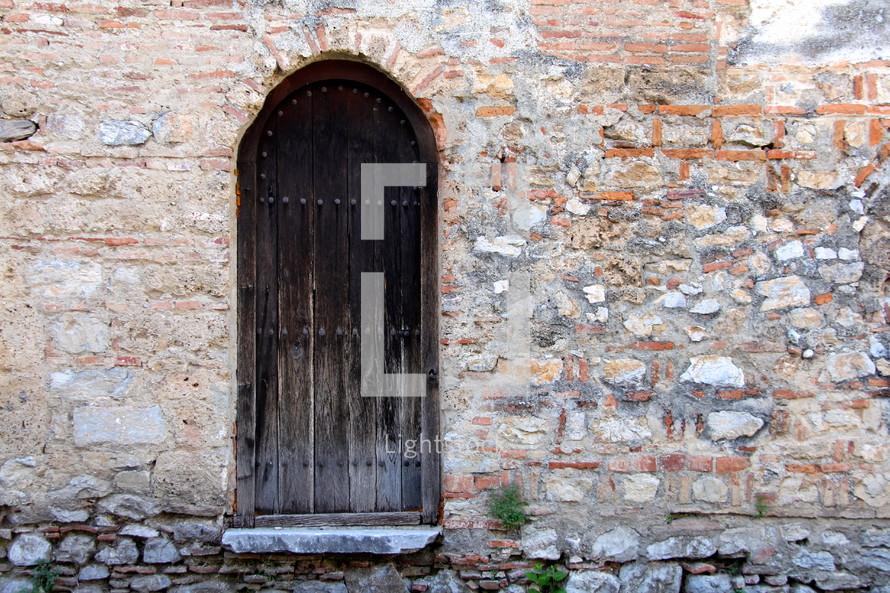 Doorway in a Macedonian Orthodox Church