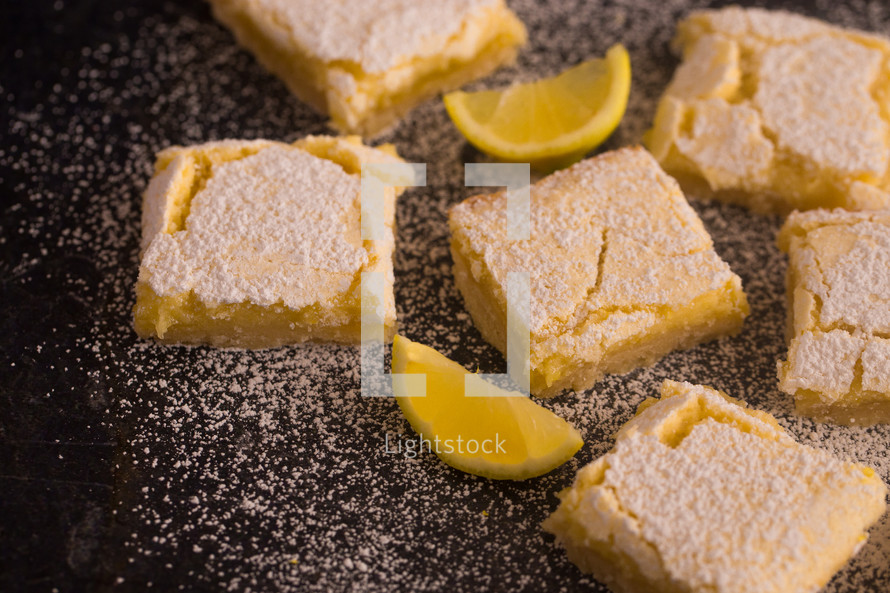 baked lemon bars