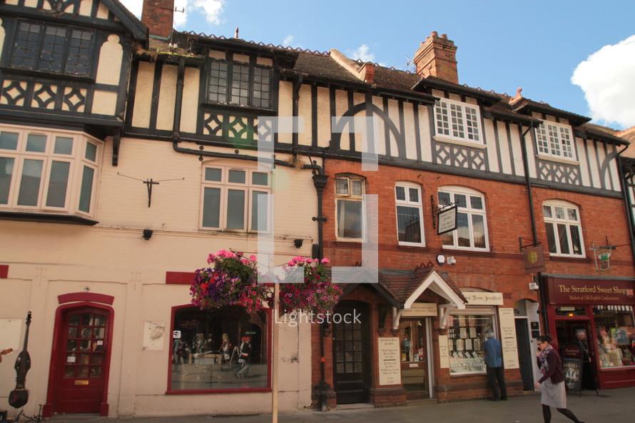 shops in Stratford Upon Avon, England