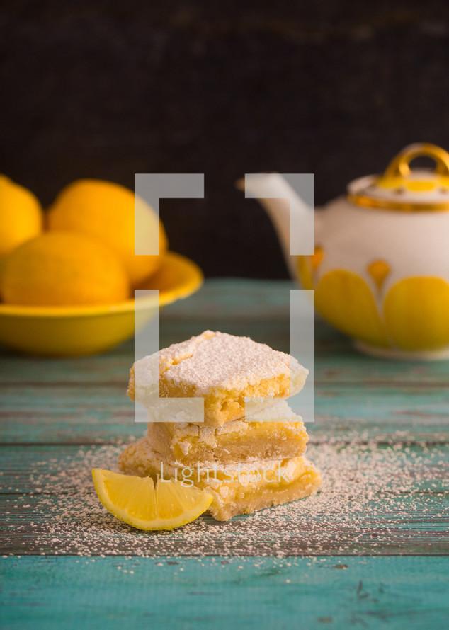 baking lemon bars