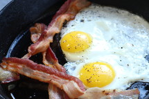 eggs and bacon