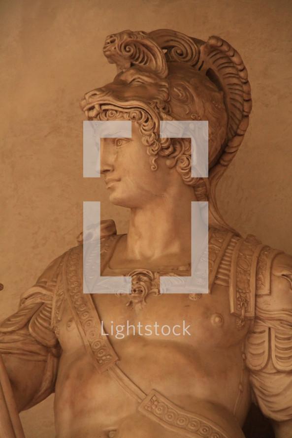 Roman emporer statue.