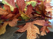 artificial fall leaves