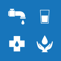 giving water icons