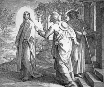 On the Road to Emmaus, Luke 24:13-35