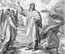 The Temptation of Jesus, Matthew 4:1-11