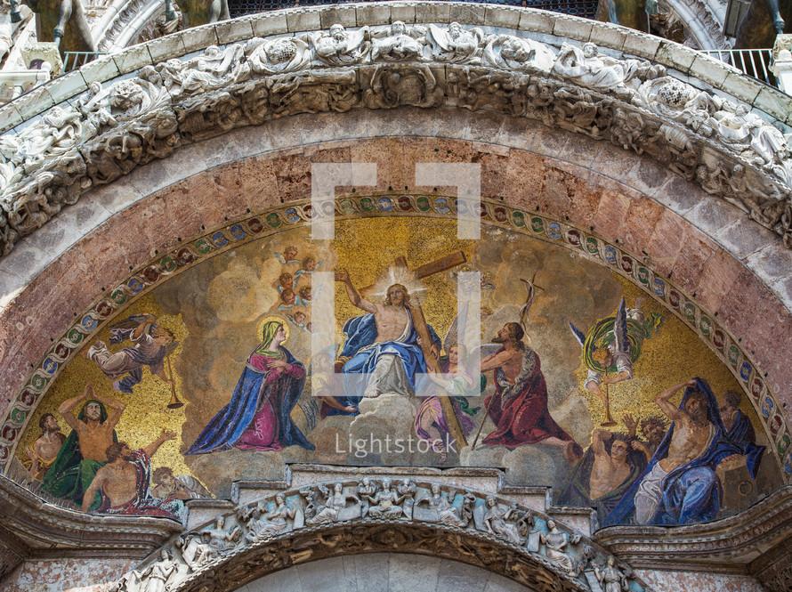 St.Mark's Basilica entrance