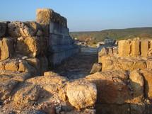 ruins at Hippos