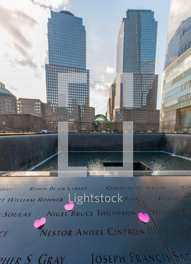 911 Memorial in NYC