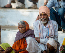 a couple in India