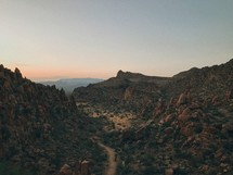 red rock canyons