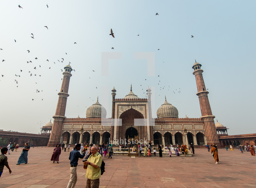 mosque in Delhi, India