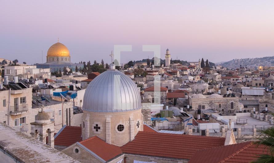 rooftops in Jerusalem