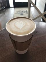 heart shape in creamer