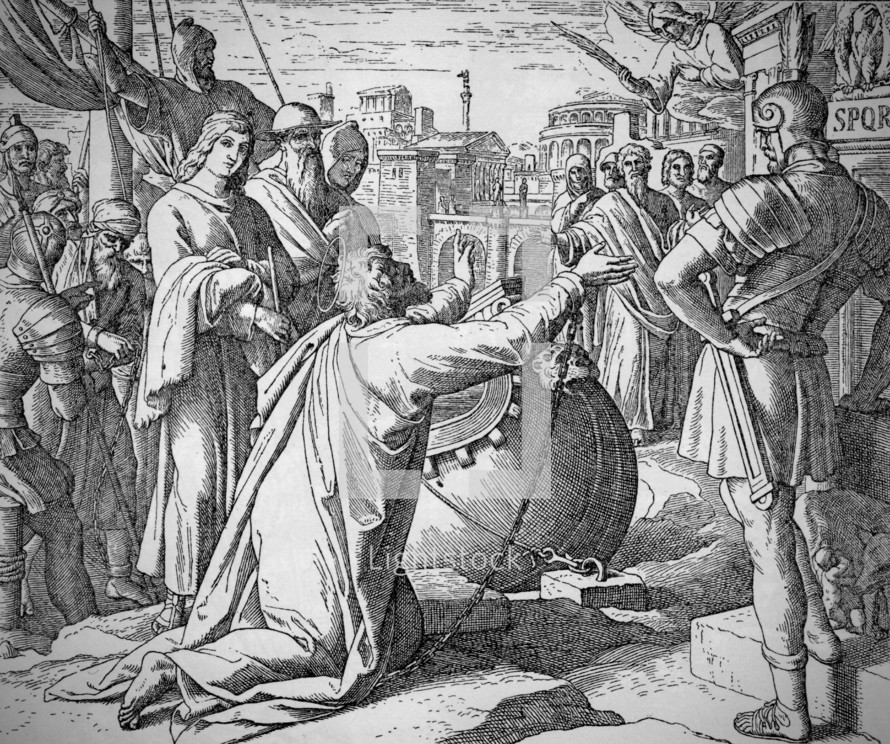 Paul's Arrival at Rome, Acts 28:14-16
