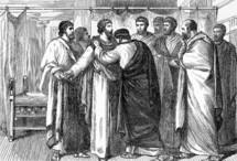 Paul leaves Ephesian Elders, Acts 20:13-38