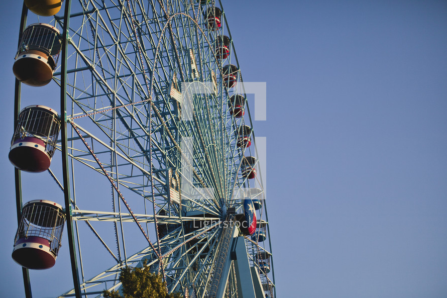 Ferris wheel at the State Fair of Texas.