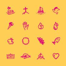 gospel icon set